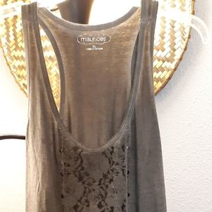 Maurices Tops - Maurice's tunic length layering tank